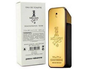 Perfumes tester 1 million men 100ml (tester unbox)