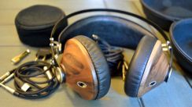 Meze 99 Classic Walnut Silver Headphone