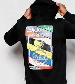 Adidas Original Label Hoody S Aop Tshirt XS