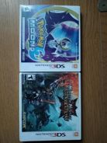 Pokemon Moon and MH Generations BundlePack