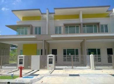 Menggatal double storey terrace house