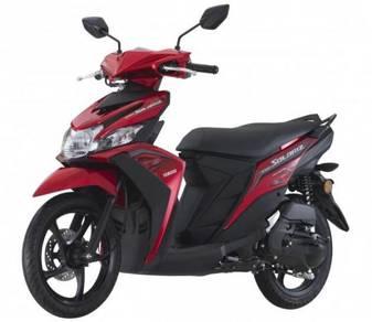 Yamaha ego solariz 125 scooter promosi christmas