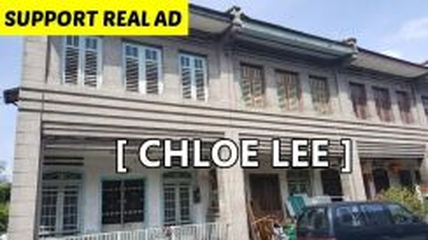 3 Adjoining 2-Storey Prewar House at Jalan Nanking, Georgetown