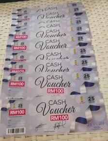Eraman Shopping Vouchers RM1K