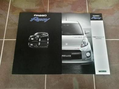Catalog Original Japan Toyota Passo racy 05 myvi