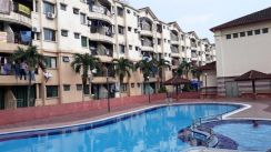 PANGSAPURI PERDANA APARTMENT, Fully Furnished, SEKSYEN 13, SHAH ALAM