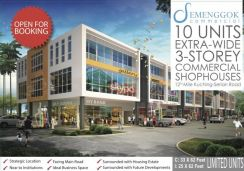New Year Promotion Semenggok Shophouse FOR SALE