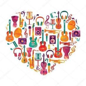 Asas Muzik, Guitar, Saxophone, Keyboard, Drum