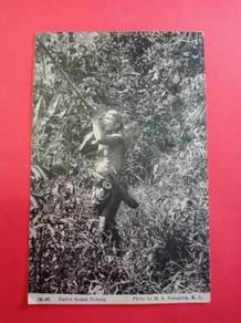 Postcard SAKAI Blow Pipe 1915 PX131