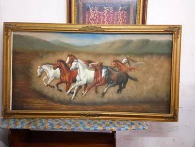 Authentic horse paint