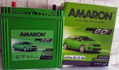 Car battery bateri kereta ns40 ns60 amaron os batt