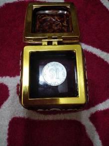 Duit syiling lama Rm 1.00 tahun 1971