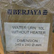 Water urn 10l without heater