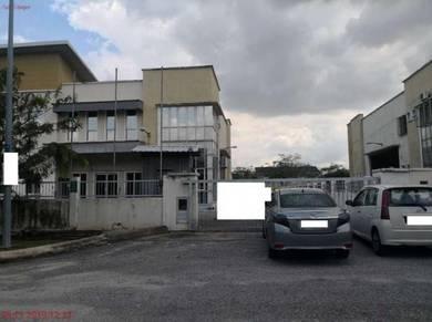 1.5 Storey Semi D Light Industrial Factory in Seksyen 23, Shah Alam