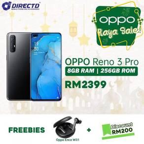 OPPO RENO 3 pro (8GB RAM/256GB/S.AMOLED)PROMO RAYA