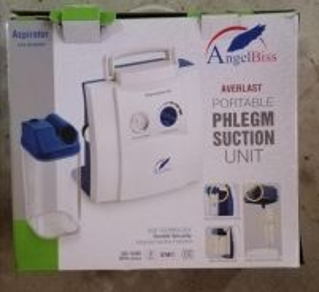 AngelBiss Portable Phlegm Suction Aspirator