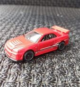 Hotwheels Nissan Skyline R34 Red