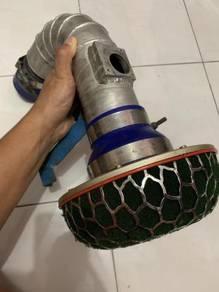 Used hks air filter+rem pipe for toyota vigo 3.0