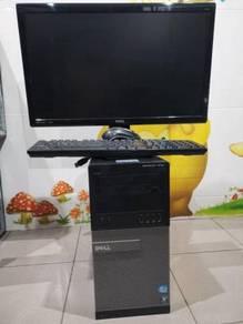 CPU I5 3rd Gen GTX750 RAM 8GB HDD 500GB LED 23