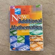 New additional mathematics by Marshall cavendish