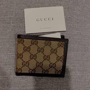 Gucci wallet ori like new