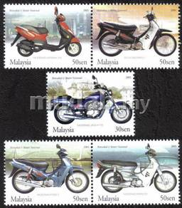 National Motorcycles Scooter 2003 Malaysia Stamp S