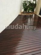 Timber Decking - Kayu Cengal Batu