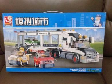 Brick Transporter Truck M38-B0339