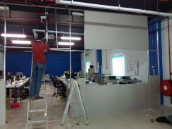 Office Partition plaster board