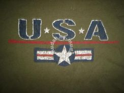 UNiTED STATES AIR FORCE SIGN RETRO T-SHIRT USA