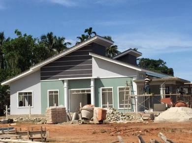Semi D setingkat di Pengadang baru Kuala Terengganu