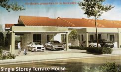 New Single Story Terrace Intermidiate House