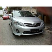 Toyota altis 2011 oem bodykit WITH PAINT N SPOILER