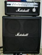 Marshall mg100hcfx with marshall mg412 cab
