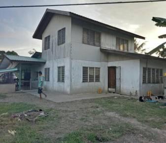 Tanah 3.2 ekar dan rumah 2 tingkat di Kg. Indai Tuaran