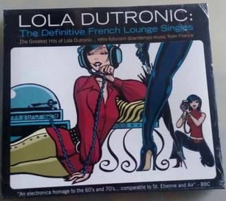 IMPORTED CD Lola Dutronic The Greatest Hits 2CD