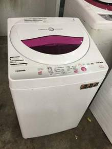 6.5kg Toshiba Washing Pink Machine Mesin Basuh Top