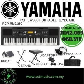 Yamaha PSR-EW300 Ew300 Psr-ew300 76 Keys Keyboard