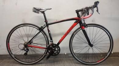 Racing bicycle 16sp Polygon stratos s2 700c b/r