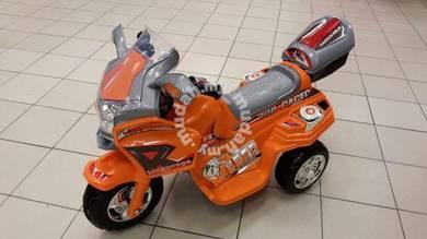 Children Bike Big police Motor Kanak-Kanak orange;