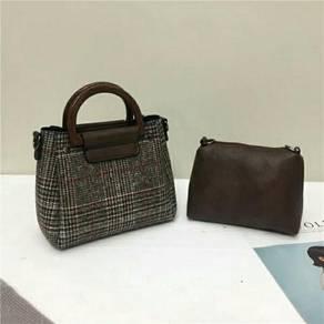 New Korean women hand and sling bag