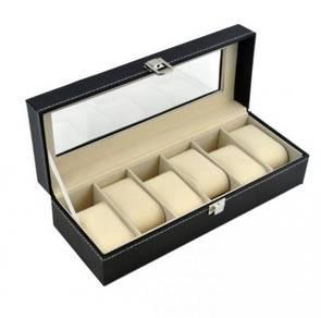 Watch Storage Box Aluminium/PU Leather (31)