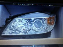 Mercedes w204 original front and back body part