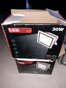 LED Outdoor Light * spotlight ) 30W.