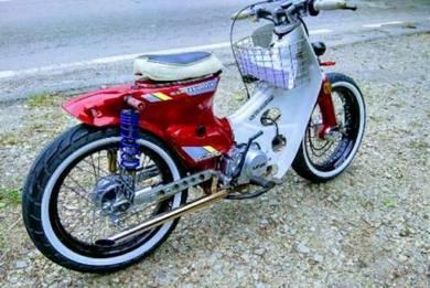 Street cub 160 cc