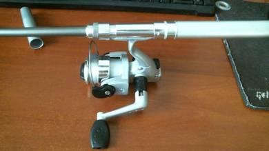 Pocket pen fishing rod