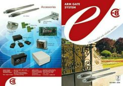 Swing Arm gate ekonomi E