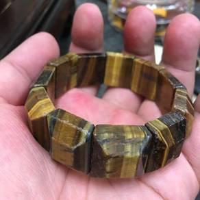 Tiger Eye crystal bangle