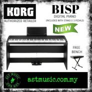 Korg B1sp Digital Piano - White with bench