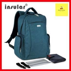Original Insular Diaper Bag (Turqoise Blue)